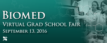 Virtual Grad School Fair