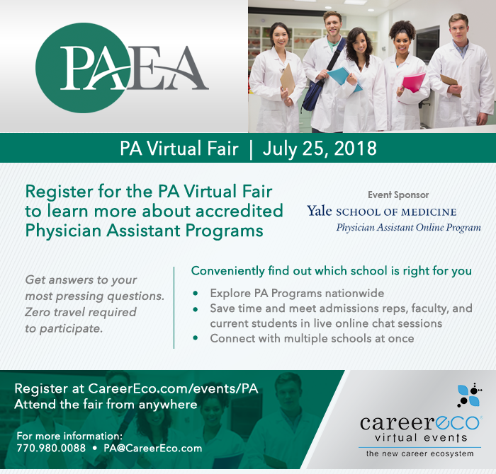 PA Virtual Fair on July 25th: Meet with 35+ Schools in one live event!