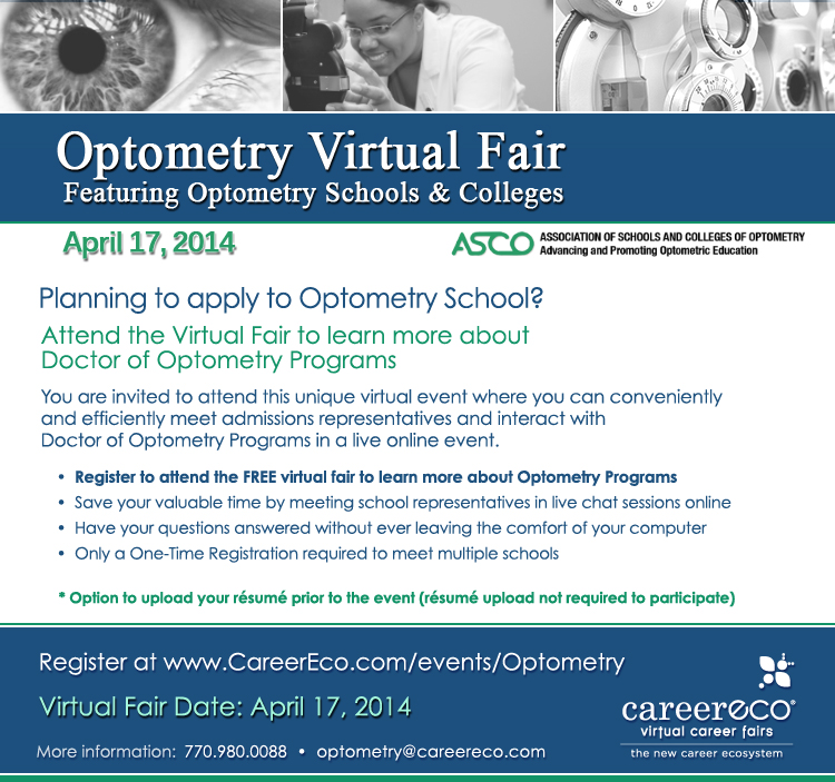 Optometry Virtual Fair