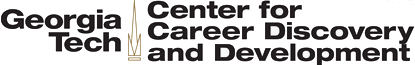 Georgia Tech Center for Career Discovery and Development logo - click to open web site